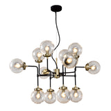 Aurora- Modern Industrial 12 Light Ceiling Pendant Lamp-Ceiling Lamp-Belle Fierté