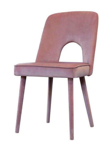 Alette - Upholstered Leg Velvet Dining Chair-Chair-Belle Fierté