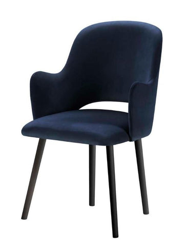 Jacob - Contemporary Velvet Dining Chair-Chair-Belle Fierté