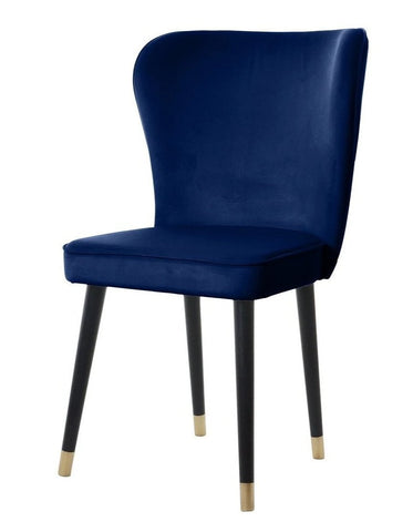 Celine - Scandinavian Velvet Dining Chair-Chair-Belle Fierté