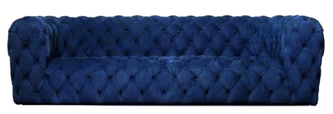 Preston- Luxury Contemporary Tufted Velvet Sofa-Sofa-Belle Fierté