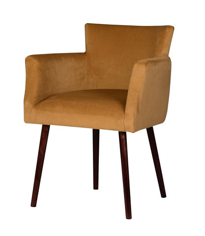 Melissa - Scandi Accent Chair, Velvet Occasional Chair-Chair-Belle Fierté