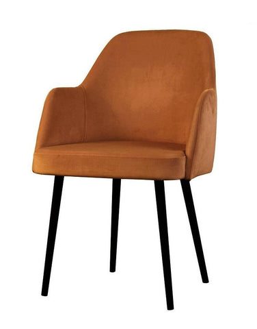 Mocate - Contemporary Velvet Dining Chair-Chair-Belle Fierté