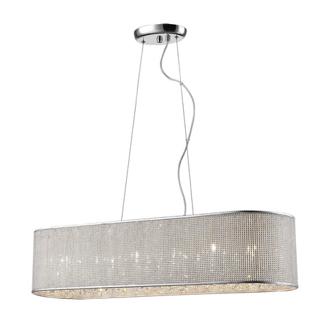 Andrea- Modern Crystal Kitchen Dining Room Ceiling Pendant Lamp-Ceiling Lamp-Belle Fierté