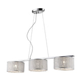 Alama- Modern 3 Light Kitchen, Dining Table, Breakfast Bar Suspended Lamp-Ceiling Lamp-Belle Fierté