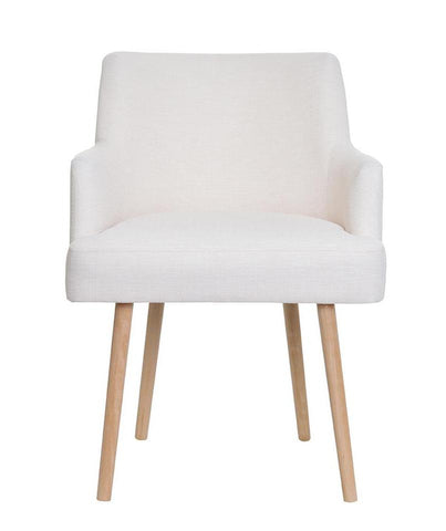 Megan - Modern Upholstered Accent Chair, Occasional Scandi Chair-Chair-Belle Fierté