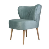 Valerio - Cocktail Accent Velvet Chair-Chair-Belle Fierté