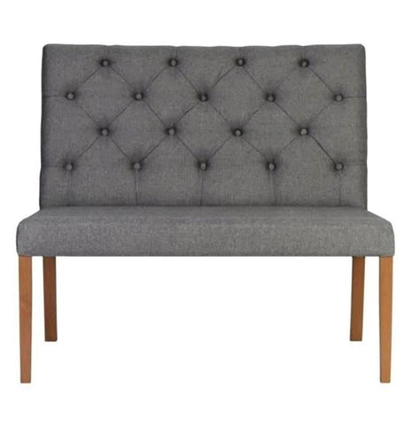 Rona - Chesterfield Dining Bench 107cm-Benches & Ottomans-Belle Fierté