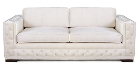 Clementino - 3 Seater Contemporary Velvet Sofa-Sofa-Belle Fierté