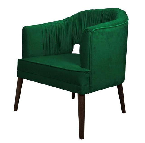Velvet Accent Chair-Chair-Belle Fierté
