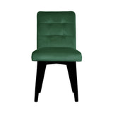 Matteo - Scandinavian Velvet Dining Chair-Chair-Belle Fierté