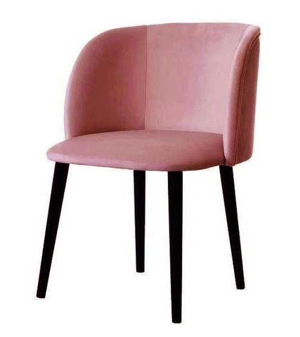 Mona - Contemporary Velvet Dining Chair-Chair-Belle Fierté