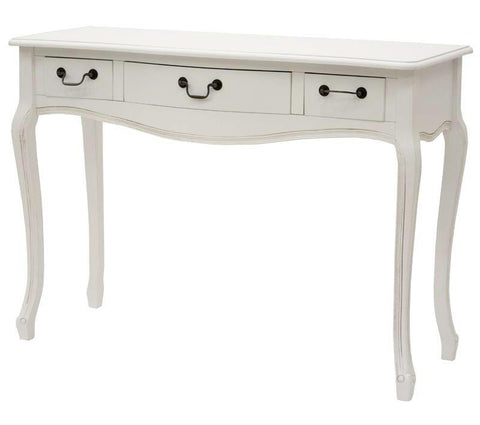 PEDRO - White Console Table, Shabby Chic Console Table-Console table-Belle Fierté
