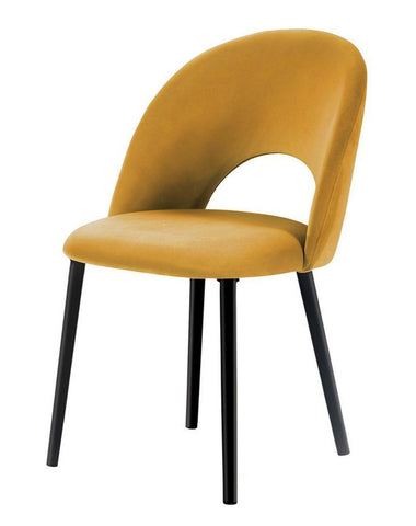 Catania - Velvet Dining Chair-Chair-Belle Fierté