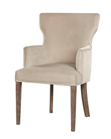 Ellen - Dining Chair, Velvet Accent Chair-Chair-Belle Fierté