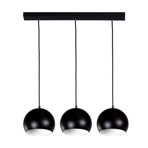 Triple Black Kitchen Suspension Light-Ceiling Lamp-Belle Fierté