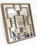 Celeb - Contemporary Metal Mirror, House Wall Decoration-Mirrors-Belle Fierté