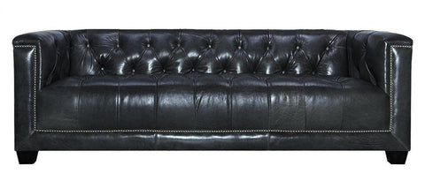 Sensational Cambridge Modern 3 Seater Genuine Leather Chesterfield Gmtry Best Dining Table And Chair Ideas Images Gmtryco