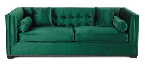 Kingston - Luxury 3 Seater Velvet Sofa-Sofa-Belle Fierté