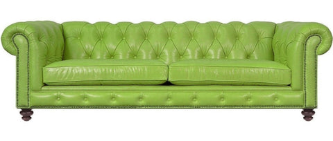 Boston - Luxury Genuine Italian Leather Chesterfield Sofa-Sofa-Belle Fierté