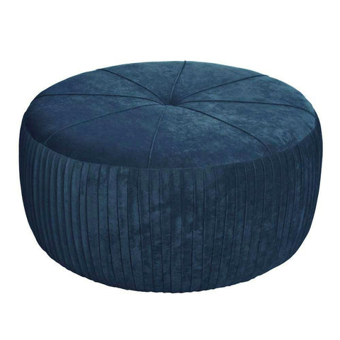 Angelo XL- Elegant Velvet Ottoman, Upholstered Coffee Table-Benches & Ottomans-Belle Fierté