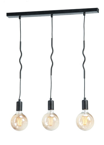 Elif - 3 light Modern Suspended Kitchen Lamp-Ceiling Lamp-Belle Fierté