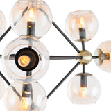 Elisa- Modern 9 Light Ceiling Pendant Lamp-Ceiling Lamp-Belle Fierté