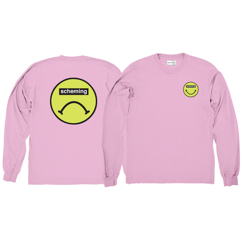 Two-Faced Longsleeve Tee - Scheming Co.