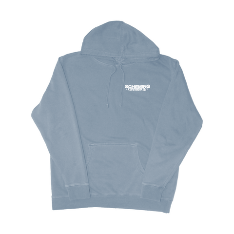 Pigment Dyed Fleece Hoodie - Scheming Co.