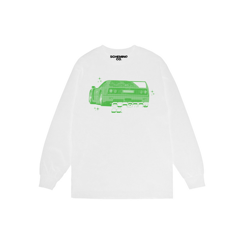 S/S '21 Motorsport Longsleeve Tee - Scheming Co.