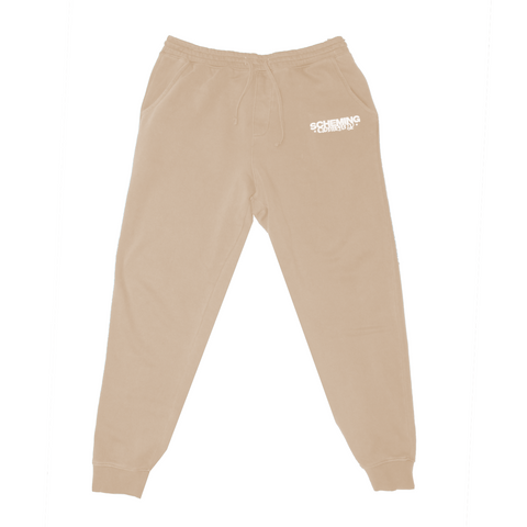 Pigment Dyed Fleece Sweatpants - Scheming Co.