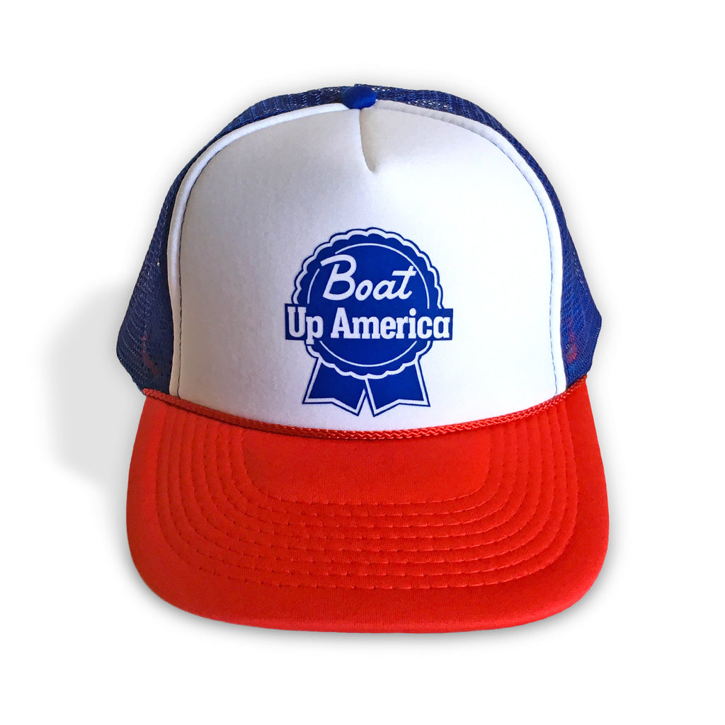 boat up hat, boat up trucker hat, boating hat, flat bill, trucker hat, snapback, boat up shirt, boat up t shirt, buy shirts online, funny shirts, boat up tank top, boat shirt, boating shirt, merica shirt, red boat up trucker hat
