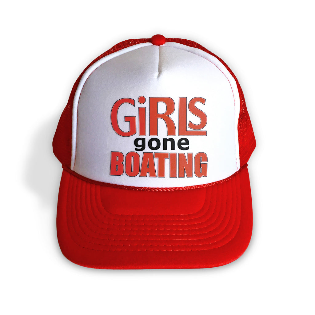 Girls Gone Boating Trucker Hat