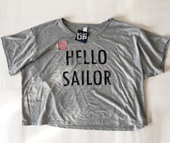 Women's Hello Sailor Flowy T shirt