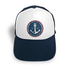 Boat Up Anchor Trucker Hat