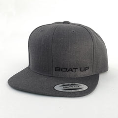 Premium Classic Snapback - Dark Heather