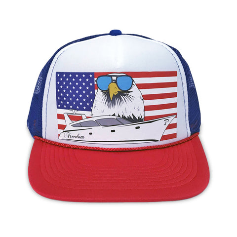 USA Eagle Trucker Hat