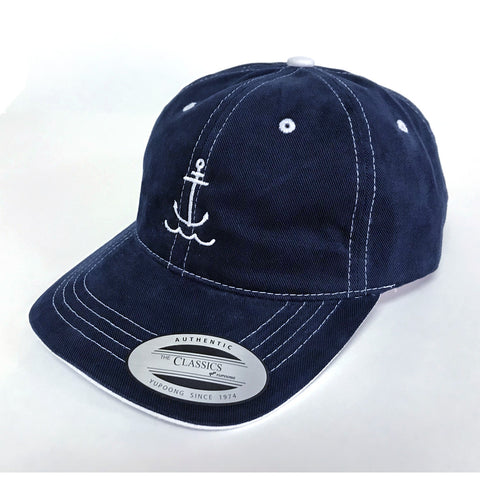 Dad Anchor Hat - Navy