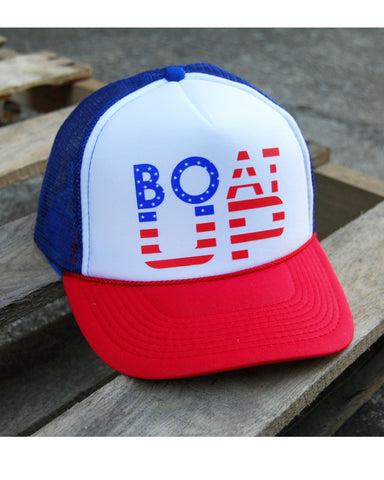 Boat UP USA Trucker Hat