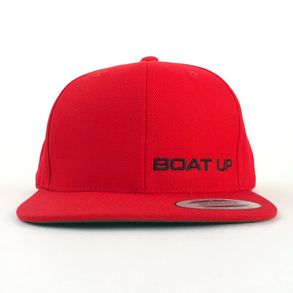 351834845cd Premium Classic Snapback - Red – Boat Up
