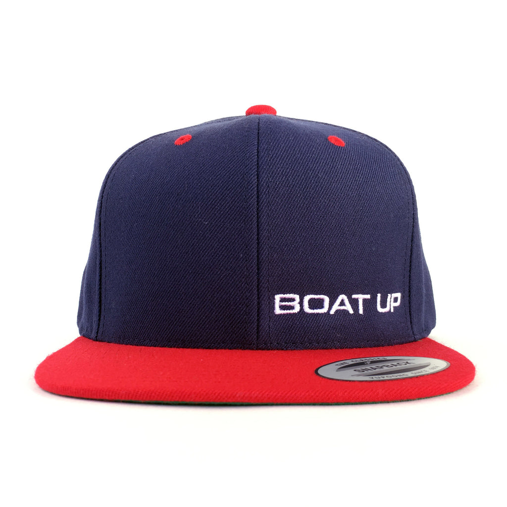 dd863c71640 Premium Classic Snapback - Red Navy – Boat Up