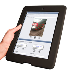 Secure handheld case for iPad 2, 3 and 4