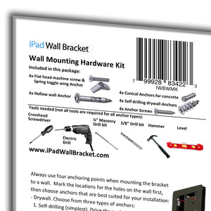 Wall Mounting Hardware Kit