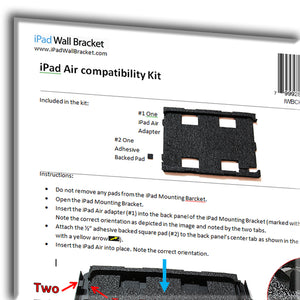 iPad Air 1&2 / New iPad (5th Gen, 2017) Compatibility Kit