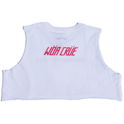 WDA Crue Crop - White