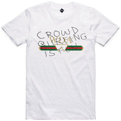 Crowd Surfing Tee - White