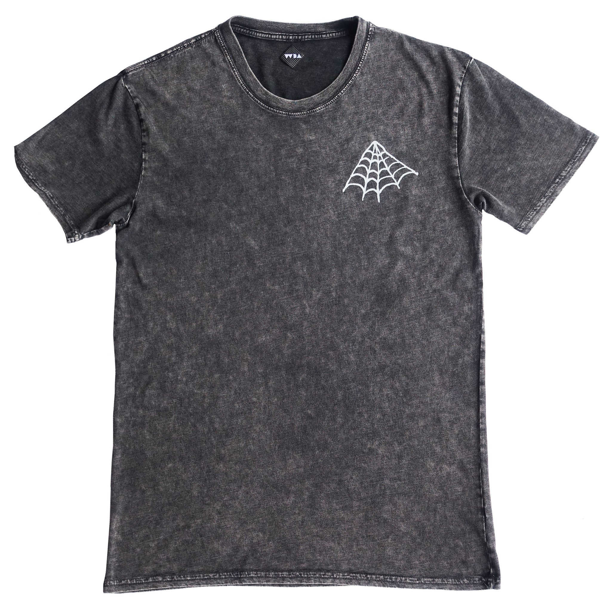 The Web Tee- Acid Wash (only 1x XL left)