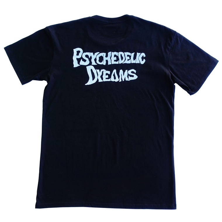Psychedelic Dreams Tee - Black