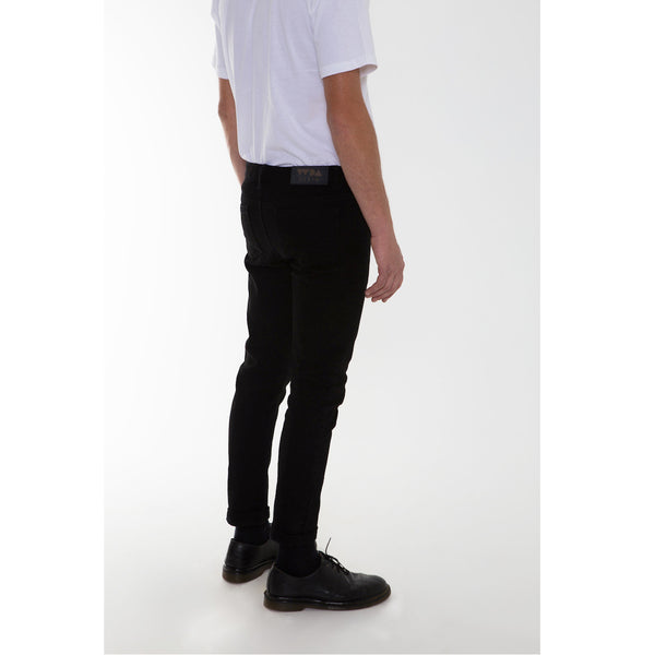 Denim Slims- Black (only size 36 left)