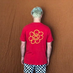 Flower Child Tee - Red